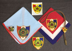 H9191 Oa Scouting Bsa - Schiff National Scout Reservation - Huge Set