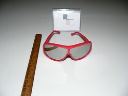 Red Opti Ray Sunglasses Vintage $25.00