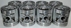 Pistons And Rings 48 49 50 51 52 53 54 Packard 8cyl. 288 C.i. And 327 C.i. New Set
