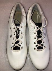 Oakley white lowtop Tennis Athletic Running shoes Men size 11 M Sneakers $15.00
