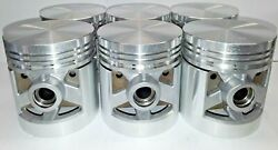 Packard 6 Cylinder 245 C.i. Pistons And Rings 38 39 40 41 42 46 47 48 New Set