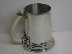 Viking Horn Tankard Pewter Pint Stein Alchemy Of England Aat25 New Without Tags