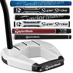 Taylormade Spider S Chalk White Custom Putter - Pick Your Length And Custom Grip