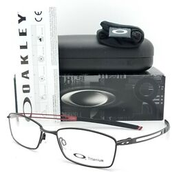 NEW Oakley COIN RX Prescription Frame Satin Black OX5071-0154 TITANIUM 54mm 5071