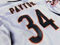 Hof 1993 Walter Payton Chicago Bears Authentic Autosigned Jersey Nfl 100 Legend