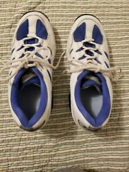 Z-Coil Freedom Classic WhiteBlue Athletic Shoes Women's Size 10