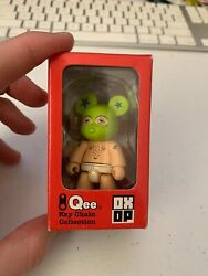 Qee Ox-op Series 1 Gangsta Bear 2004 Toy2r 2.5 Inches Artist- Jeff Soto Signed
