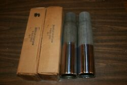 Nos 1969 Fairlane Cobratorino Gt C90z-5255-a Stainless Tail Pipe Extensions.