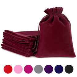 200Pc Velvet Bags Jewelry Wedding Party Favors Gift Drawstring Pouches Wholesale $16.14