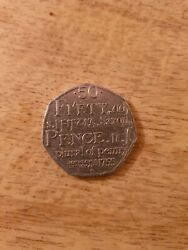 50p Coins Colections Circulated Good Conditionandnbsp