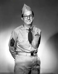 Old Cbs Radio Tv Photo Phil Silvers As He Stars In The Tv Show Sergeant Bilko 5