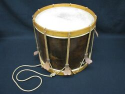 Wwi Rare Gretsch Wood Field Snare Rope Drum Us Military Issue Ww1