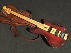 Vintage Yamaha Sb-1200s Electric Bass No.051816 Quilt Maple Neck With Soft Case