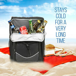 Backpack Cooler Insulatedfor Hiking Beachor Daily Lunch Bag. Keeps cold Long $14.50
