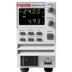Keithley 2260b-80-13 Programmable Dc Power Supply, 80v/13.5a/360w