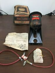 Vintage Ford Mercury 1934-40 Oil Filter Canister Purolator Toilet Paper  W/box