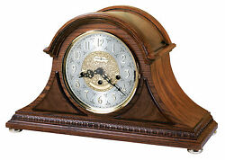 Howard Miller 630-202(630202) Barrett II MantelMantleShelf Clock-Yorkshire Oak