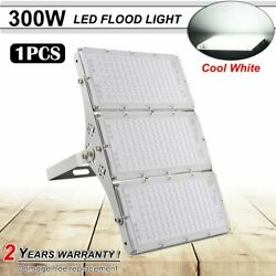 New Bright 300w Led Flood Light Cool White Outdoor Large Area Lighting Lamp Us