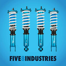 Five8 Industries For 93-98 Toyota Supra Full Coilovers Height Adjustable