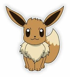 Pokemon Eevee Removable Vinyl Wall Sticker Decal 24quot;