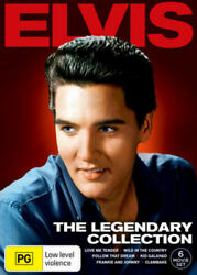 Elvis Presley The Legendary Collection Dvd 6-movies Music Musicals Brand New R4