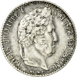 [486252] Coin France Louis-philippe 1/4 Franc 1838 Lille Ef Silver