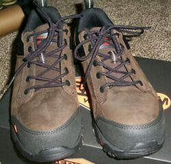 Merrell Moab Rover Leather Work Shoes - Composite Safety Toe 8.5W
