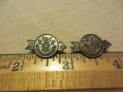 Boy Scouts Of America Camp Roosevelt Pins 2 C1920s ,bsa,ymca,us Army Rare