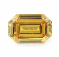 0.40 Ct Fancy Deep Orangy Yellow Diamond Gia Certified Loose Natural Color
