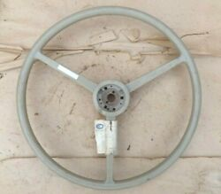 Nos 1940and039s 1950and039s Blue Bird Steering Wheel Original 20 3 Spoke