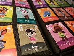 Animal Crossing Amiibo Series 2 Cards 101-200 Mint Authentic Choose Cards