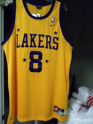 Kobe Bryant Mamba Nike Lakers Jersey 8 Sewn Name And Number's Sz Xl Authentic