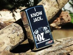 Zippo Lighter - I Know Jack Daniels Racing - Clint Bowyer - Nascar - Old No. 7