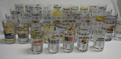 Complete Set Of Preakness Horse Racing Glasses...from 1st Glass In 1973 To 2021