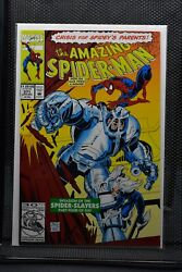 Amazing Spider-man 371 Marvel Comics 1992 Black Cat And Spider-slayers Appear 9.4