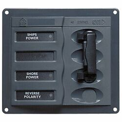 Bep Ac Circuit Breaker Panel Without Meters 2dp Ac230v Stainless Steel 900-acch