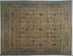 Gold Purple 10x13 Vintage Estate Traditional Rug 9and039 9and039and039 X 13and039 Feet 117 X 156 In