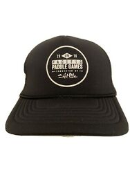 Pacific Paddle Games SUP Stand Up Paddling Surfboard Black Trucker Hat