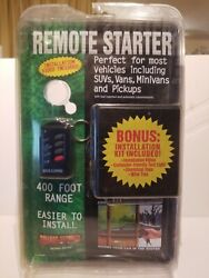 BULLDOG SECURITY Remote Starter Keyless Entry amp; Remote RS102