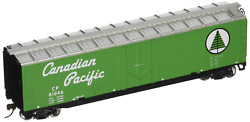 Walthers Trainline 50and039 Plug-door Boxcar With Metal Wheels Ready To Run Canadian