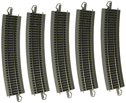 Bachmann Trains Snap-fit E-z Track World's Greatest Hobby First Railroad Track -