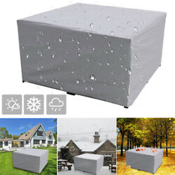Outdoor Patio Furniture Set Cover Table Chair Rain Cover Waterproof Uv Resistant