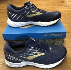 Brooks Adrenaline GTS 19 Mens NavyGrey in multiple sizes and widths
