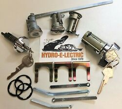 New 1970 Dodge Dart And Demon Complete Oe Style Lock Set With Oe Keys