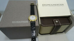 Baume And Mercier Gold Mm34 Swiss Made Quartz - Nuovo-