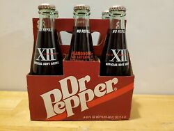 1997 Dr Pepper Big 12 Conference Championship Alamodome Texas 6 Pack 8oz Bottles