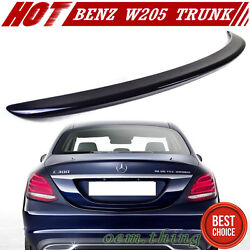 15-21 Fit For Mercedes Benz C-class W205 Trunk Spoiler A Type C180 Painted 890
