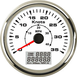 040mph Gps Speedometer Speed Gauge 035knots With Odo 8 Kinds Backlight Color