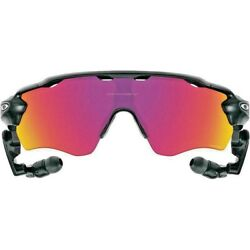 Oakley Sunglasses Radar Pace Black Clear Prizm Road Smart Glasses 9333 01 Intel $127.50