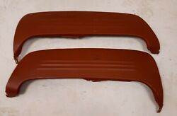 1949 - 1951 Ford Fender Skirts Reproduction Steel Rear Overlay 3 Rib Skirts Pair
